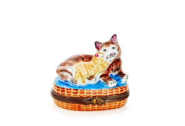 Kitten Pillow Box