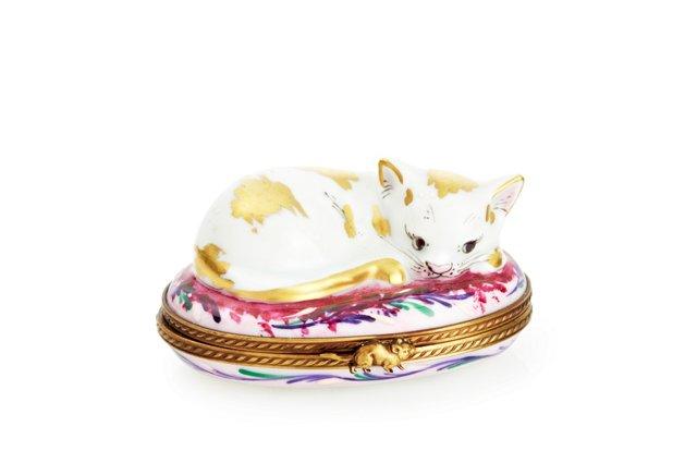 Golden Cat Box