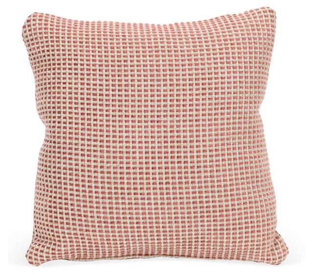 Woven Linen & Chenille Pillow
