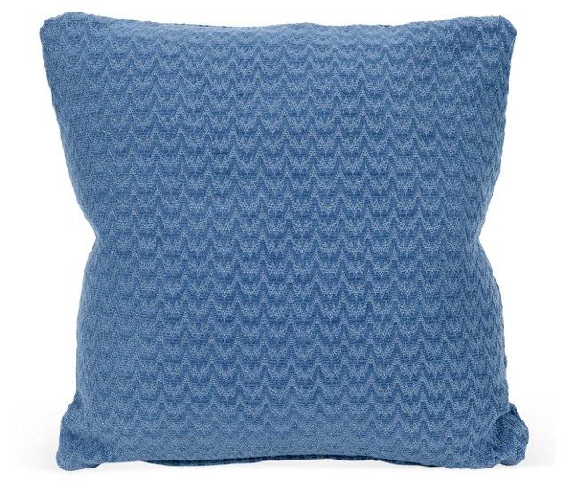 Blue Flame Stick Pillow
