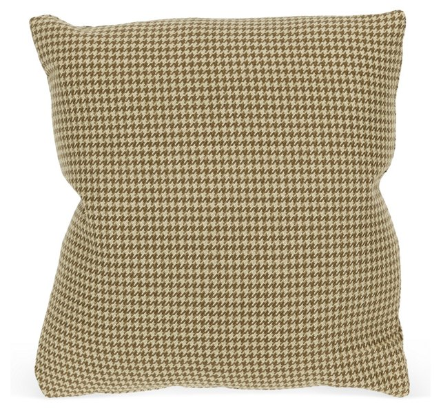 Handsome Houndstooth Pillow