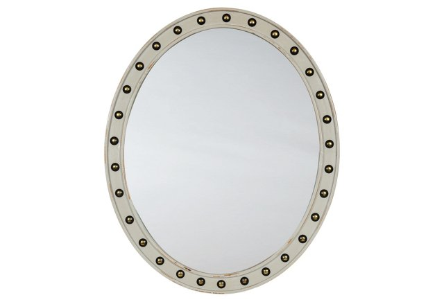 C. Fradin Berwin Mirror, Gray