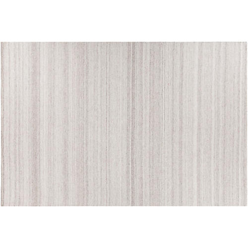 Accord Flat-Weave Rug, Gray
