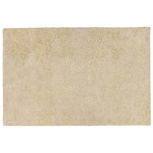 Dabih Rug, Ivory/Yellow