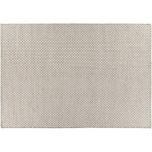 Balmoral Flat-Weave Rug, Gray/White