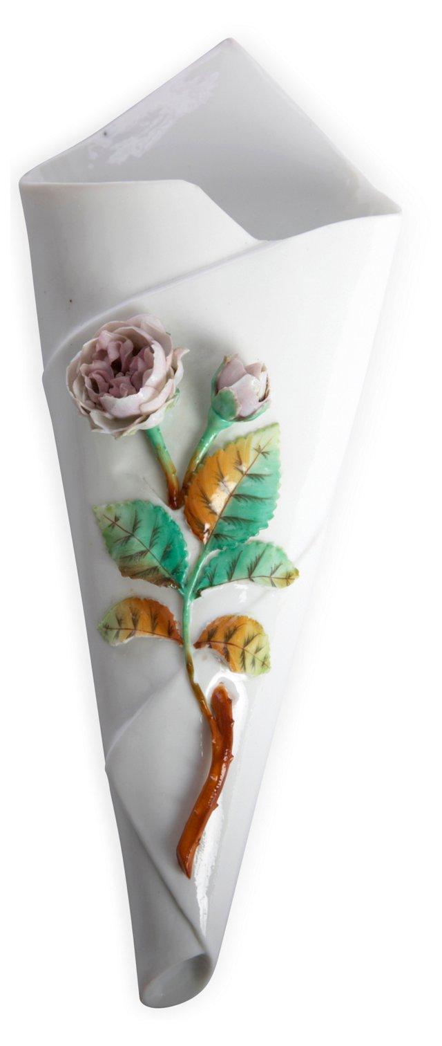 Rose Wall Vase