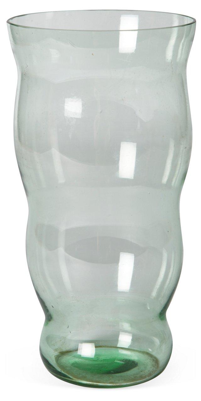 Green Glass Vase II
