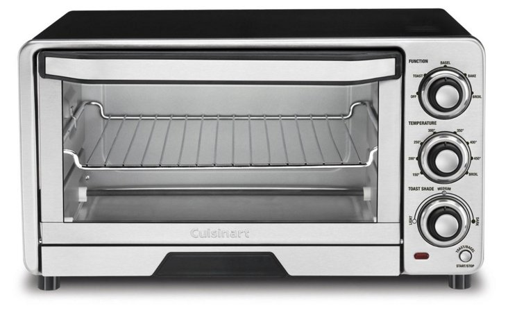 Classic Toaster Oven Broiler, Silver