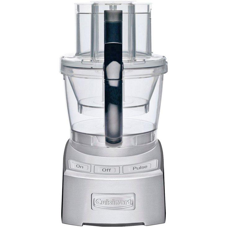 12-Cup Elite Food Processor, Silver