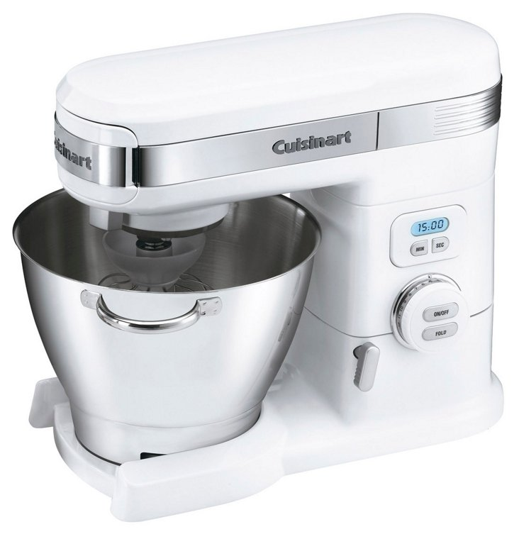 12-Speed Stand Mixer, White