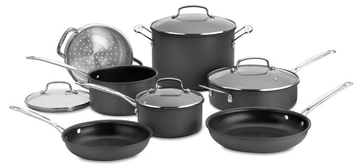 11-Pc Chef's Classic Cookware Set