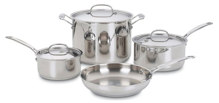 7-Pc Chef's Classic Cookware Set