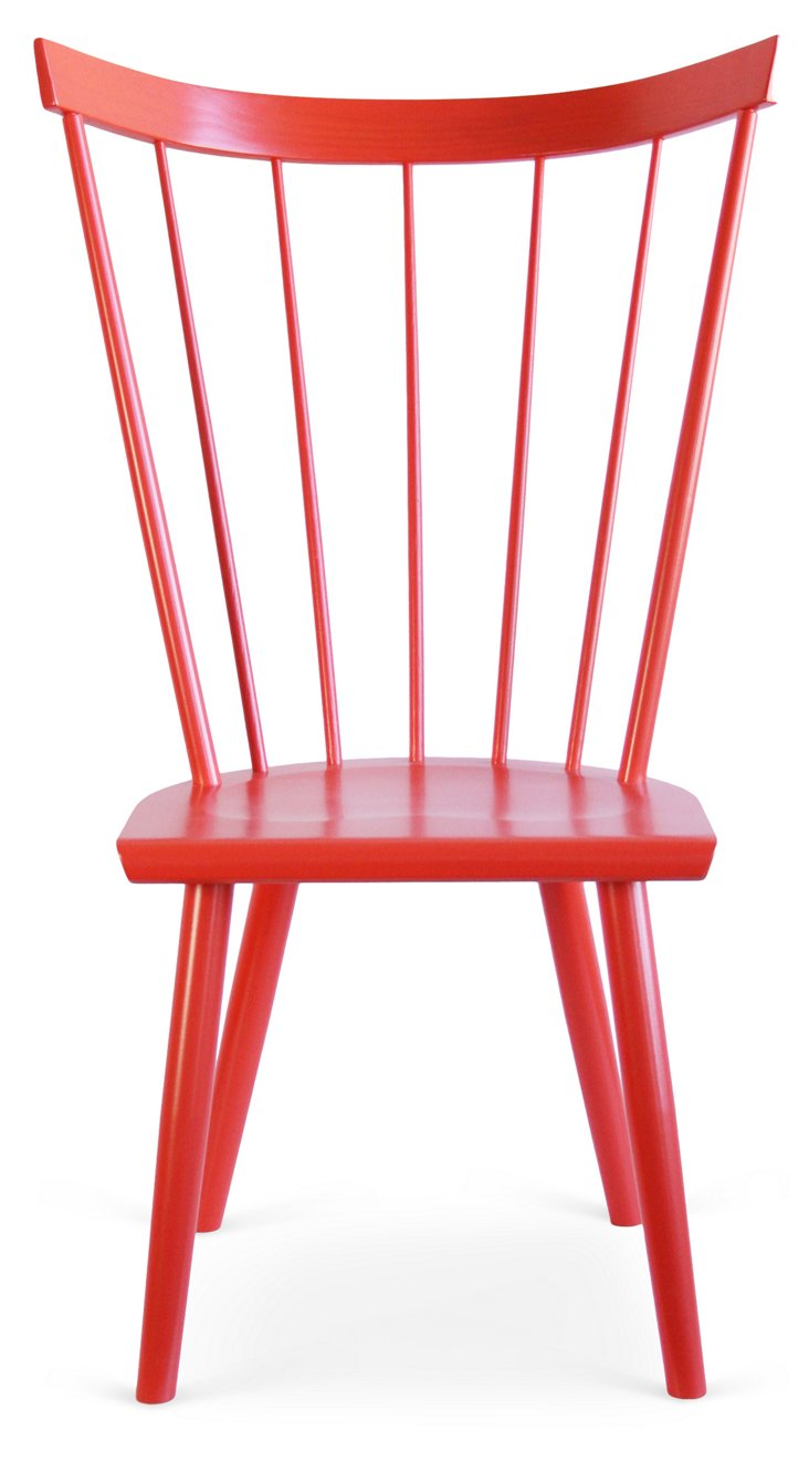 Colt Side Chair, Persimmon