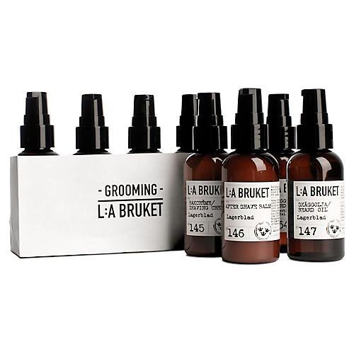 L:A Bruket Grooming Kit