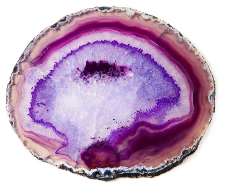 Agate Trivet, Purple