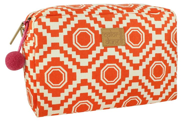 Nomad Super Cosmetic Pouch, Orange