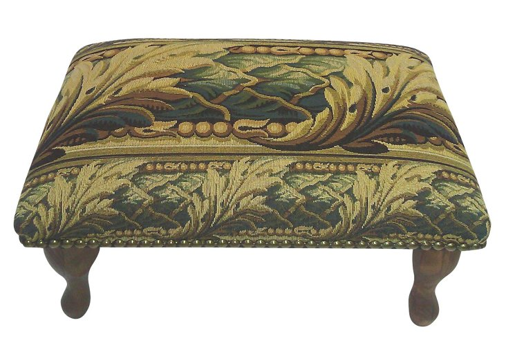 Acanthus Footstool