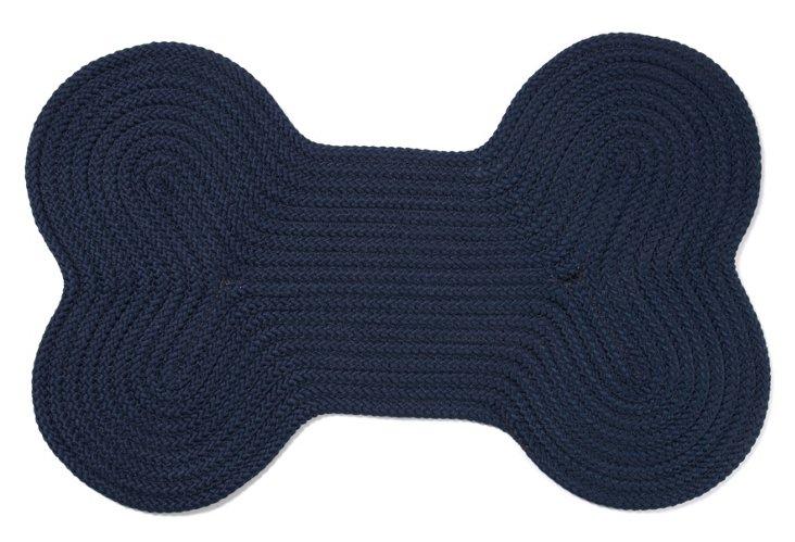 Dog Bone Rug, Navy