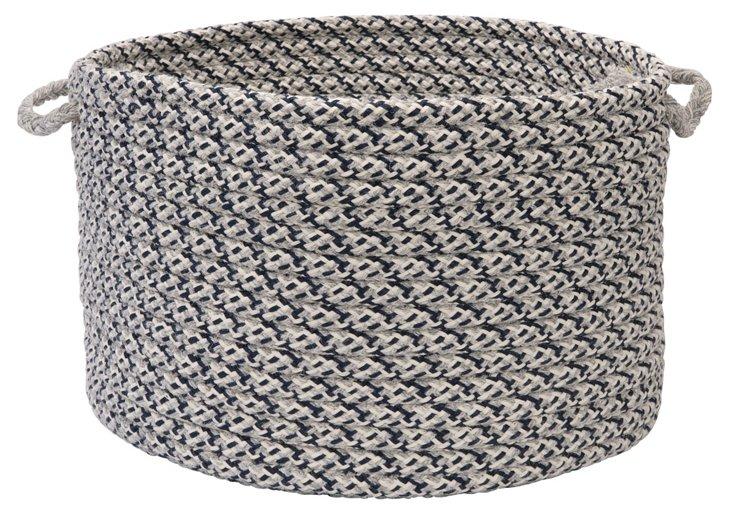 Basket, Gray/Navy