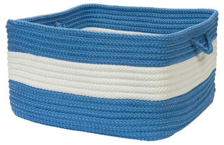 Rope Walk Basket, Blue