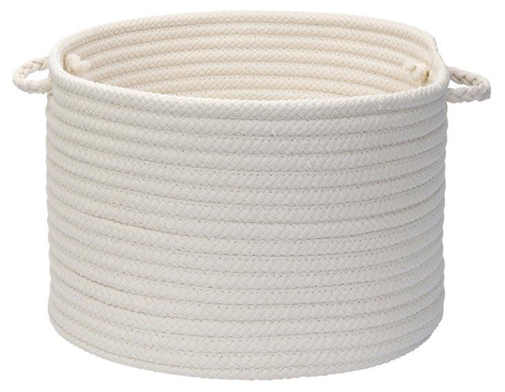 Simply Home Basket, White