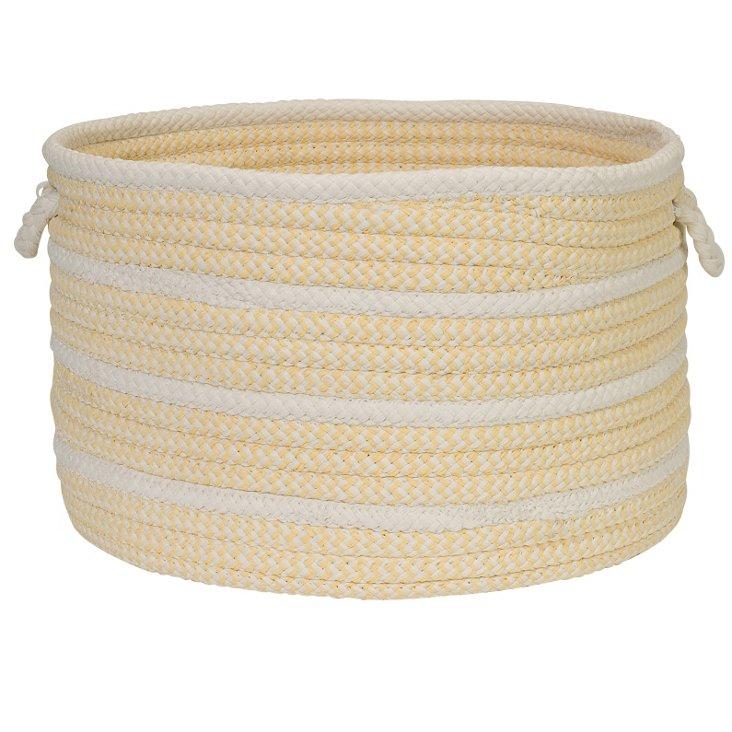 Poppy Basket, Yellow