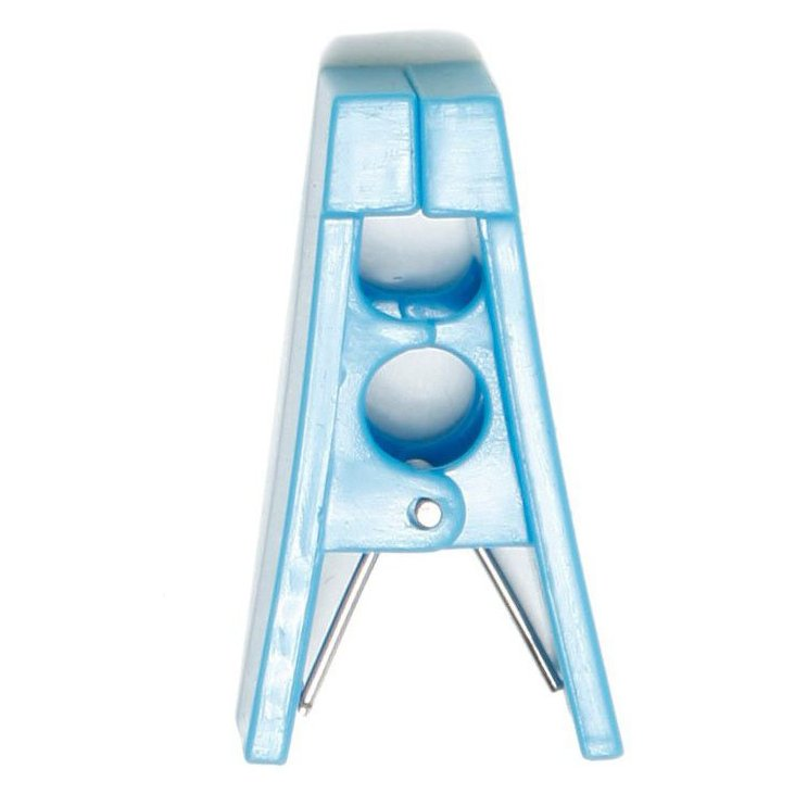 S/40 Hanger Bar Clips, Blue