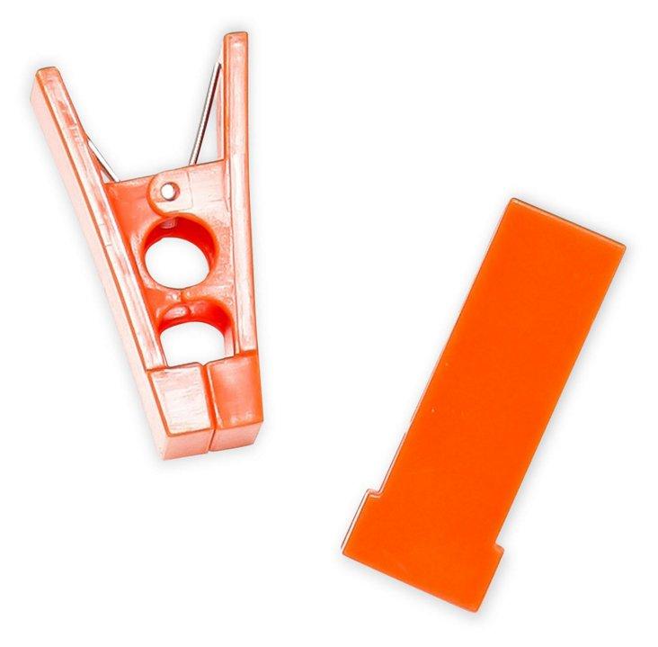 S/40 Hanger Bar Clips, Orange