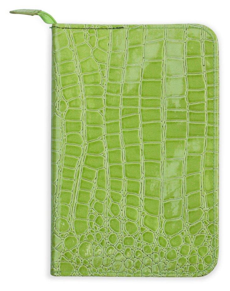 Wallet-Size Jewelry Case, Lime