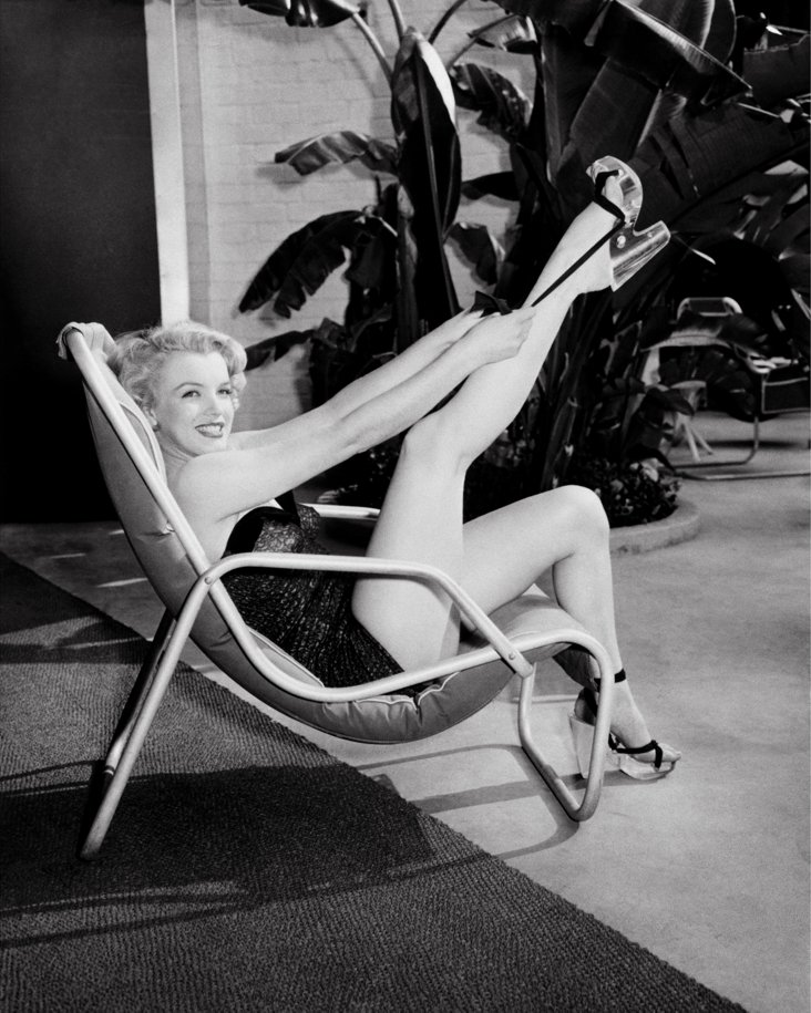 Marilyn in Bathing Suit Lithograph