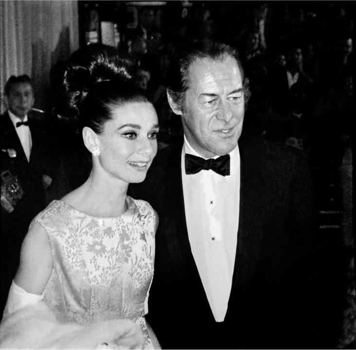 Audrey Hepburn & Rex Harrison Lithograph