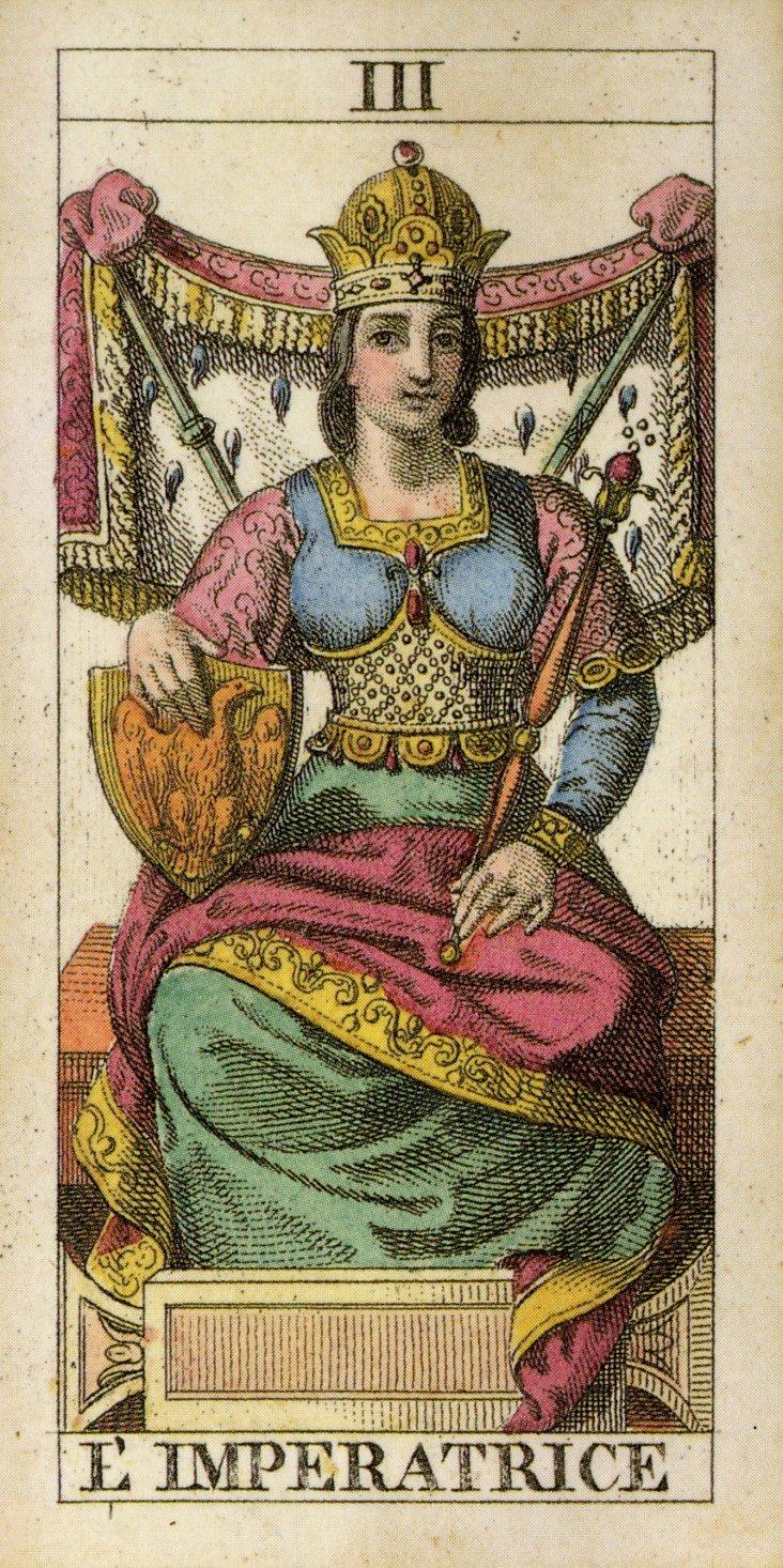 L'Imperatrice Framed Print