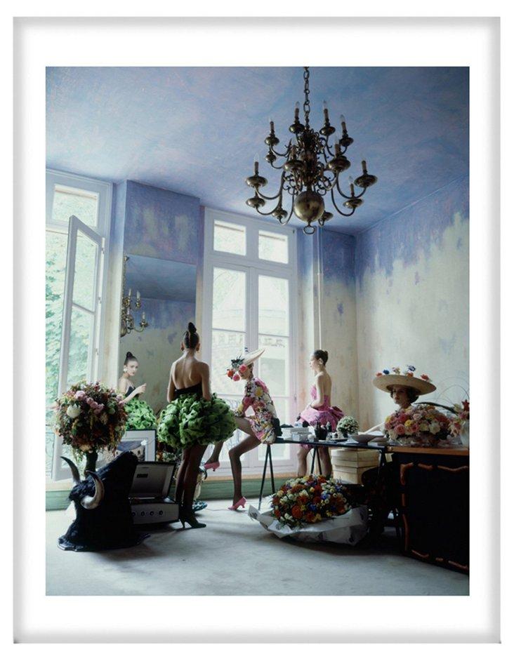 Arthur Elgort, Christian Lacroix Models