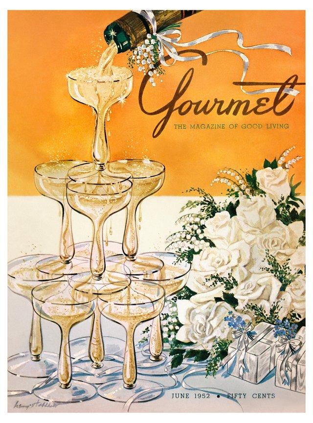 Gourmet, June 1952