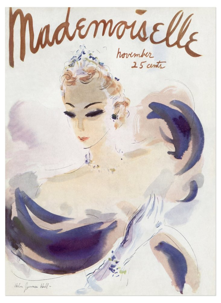 Hall, Mademoiselle Cover, 1936