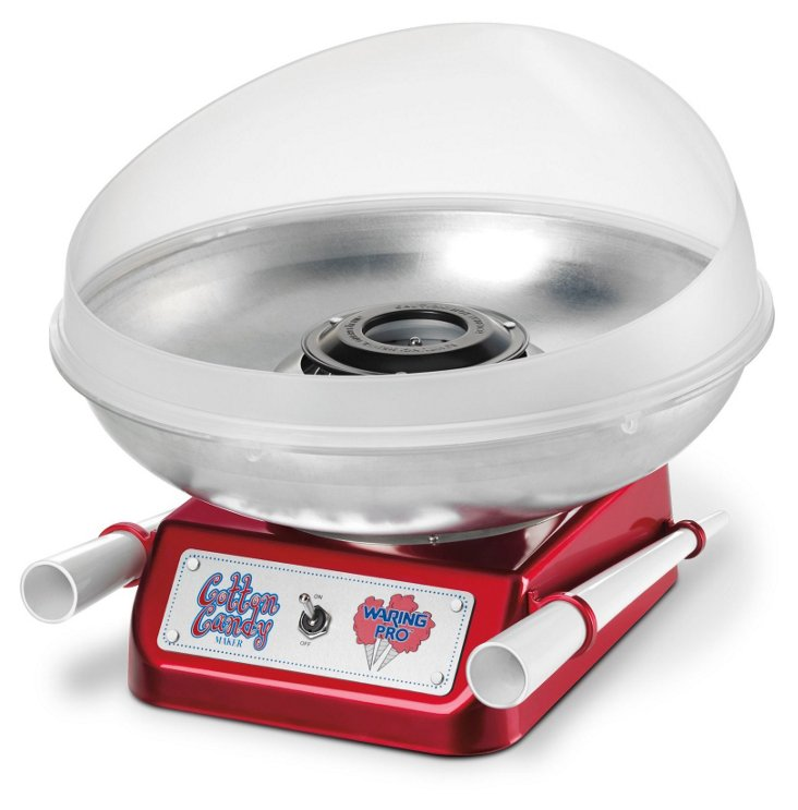 Cotton Candy Maker, Metallic Red