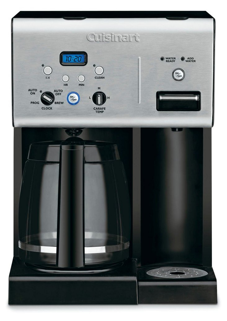 12-Cup Programmable Coffee Maker, Silver