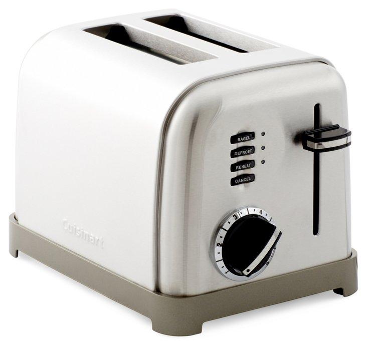 Classic 2-Slice Toaster, White