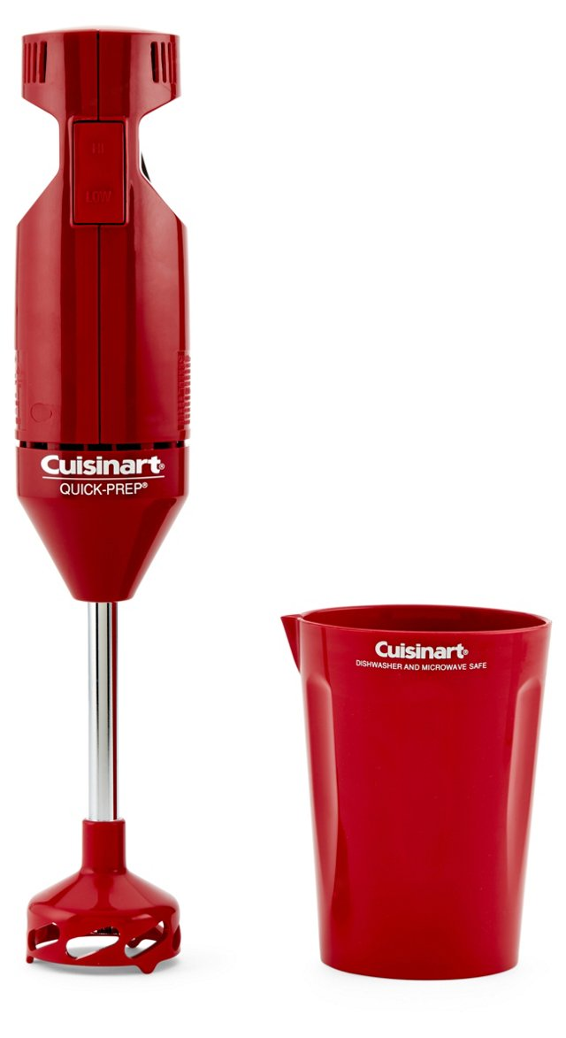 Quick Prep Hand Blender, Red
