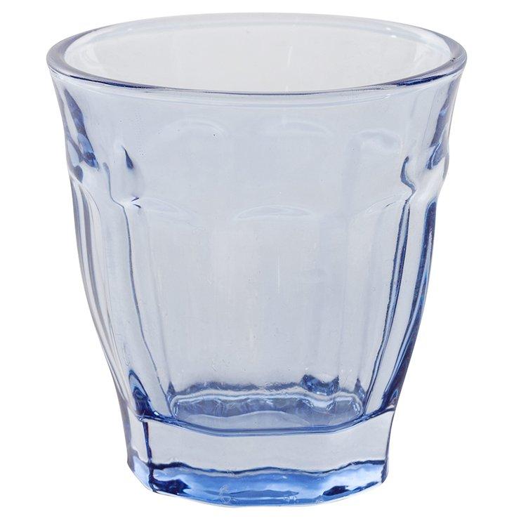 S/6 Café Glasses, Blue