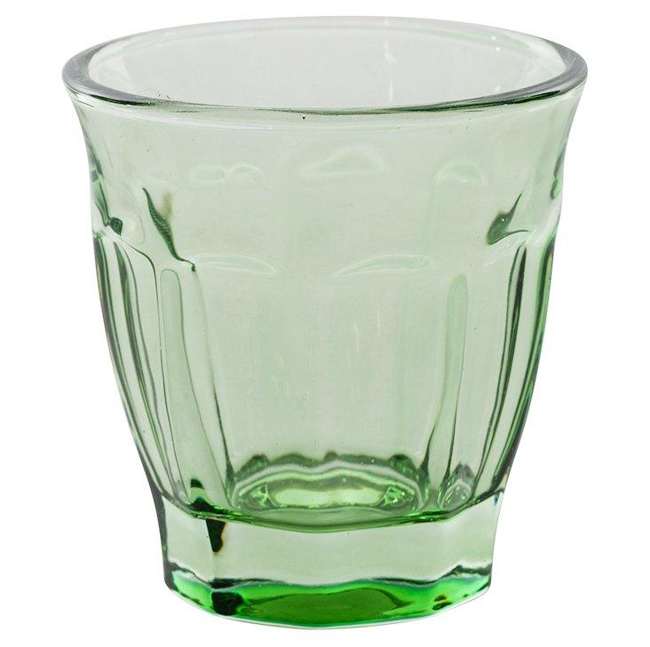 S/6 Café Glasses, Green