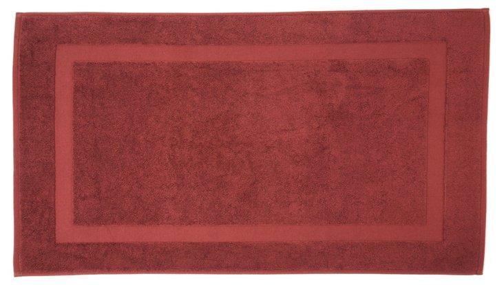 Quick-Dry  Bath Mat, Mulberry