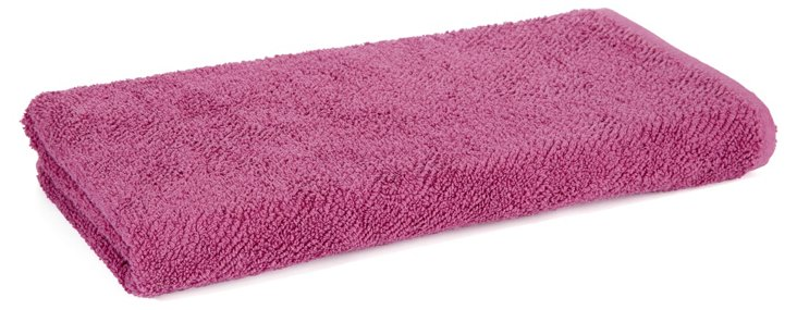 Air Weight Bath Towel, Orchid