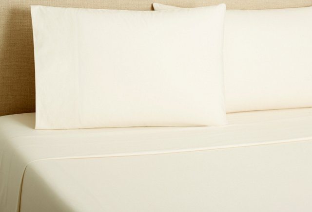 Sateen Sheet Set, Ivory