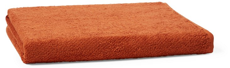 Air Weight Bath Sheet, Terracotta