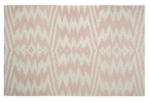 Uzbek Flat-Weave Rug, Stone