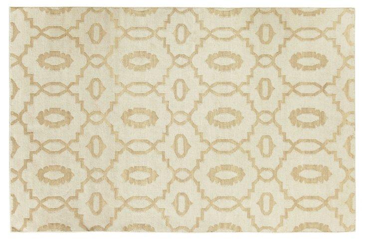 Moor Flat-Weave Rug, Bisque