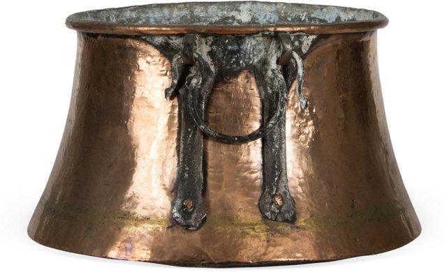 Vintage Copper Kettle II