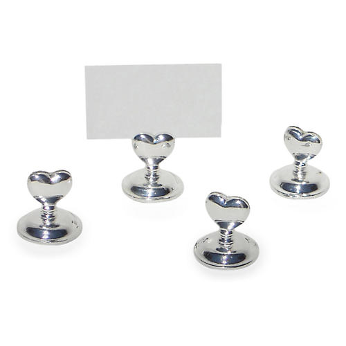 S/4 Heart Place Card Holders
