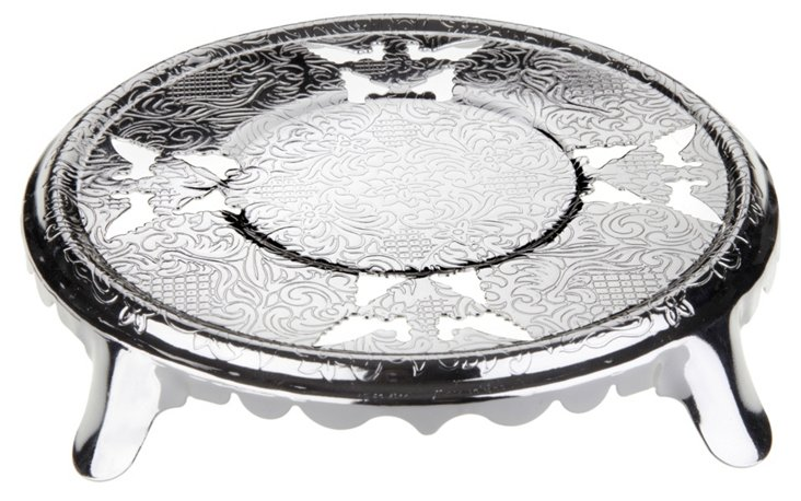 Silver-Plated Teapot Stand